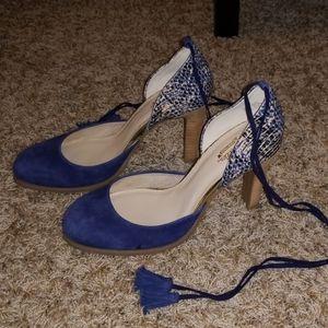 Seychelles Ankle Tie Heels